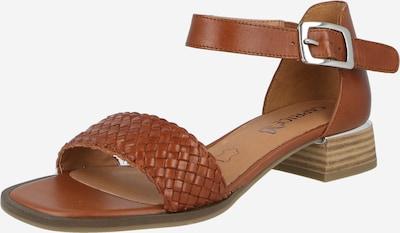 CAPRICE Sandale in cognac, Produktansicht