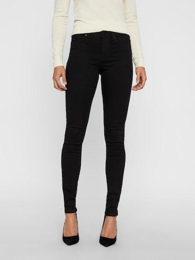VERO MODA Jeans 'Tanya' in de kleur Zwart, Modelweergave