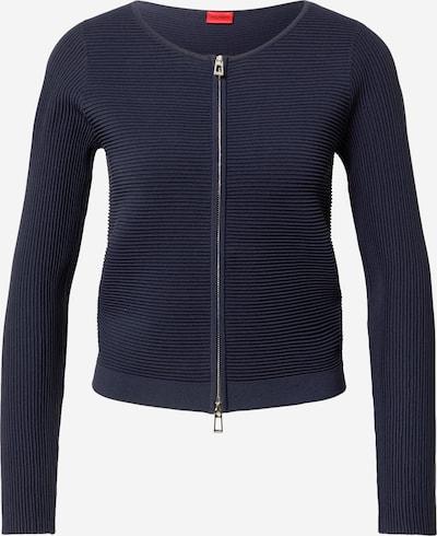 HUGO Strickjacke 'Sasheen' in nachtblau, Produktansicht