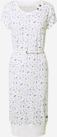 Alife and Kickin Kleid in blau / weiß, Produktansicht