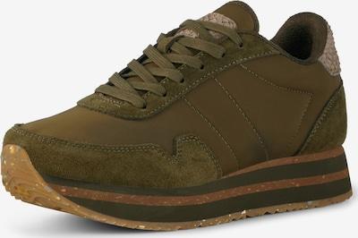 WODEN Sneaker in dunkelgrün, Produktansicht