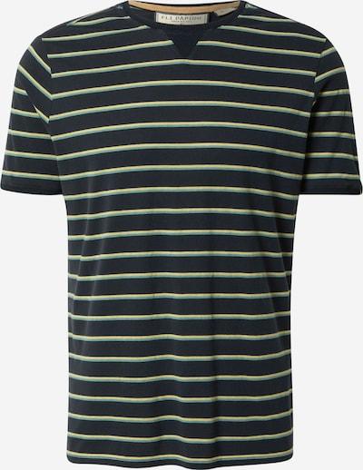 Fli Papigu T-Shirt 'Der 19' in dunkelblau / gelb / jade, Produktansicht