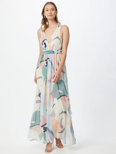Esprit Collection Kleid in beige / pastellblau / hellblau / pastelllila / pastellorange, Modelansicht