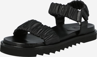 Sandale Billi Bi pe negru, Vizualizare produs