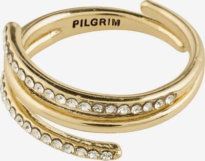 Pilgrim Ring 'Serenity' in gold / weiß, Produktansicht