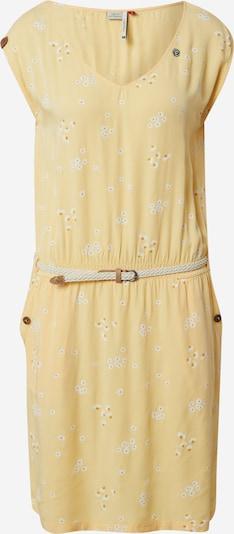 Ragwear Kleid 'CAROLINE' in hellbeige / gelb / weiß, Produktansicht