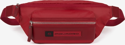 Piquadro PQ-Bios Gürteltasche Leder 33 cm in rot / schwarz, Produktansicht