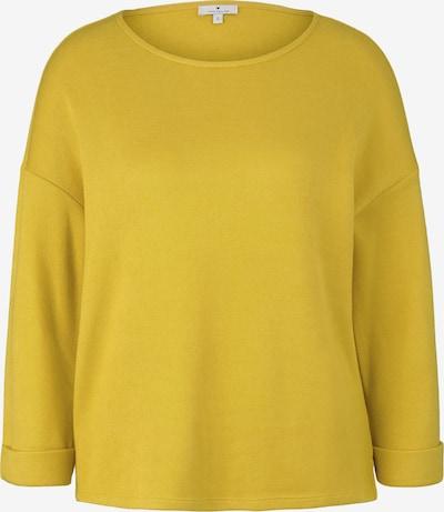 TOM TAILOR Sweatshirt in gelb, Produktansicht