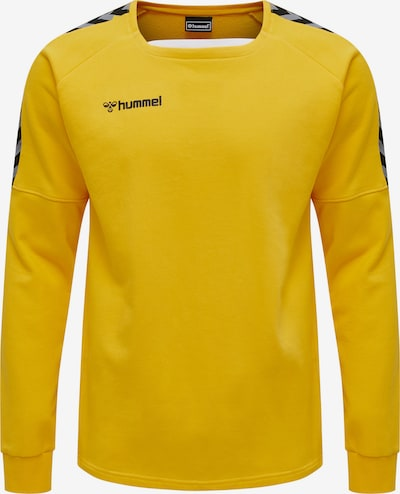 Hummel Sportsweatshirt in de kleur Geel, Productweergave