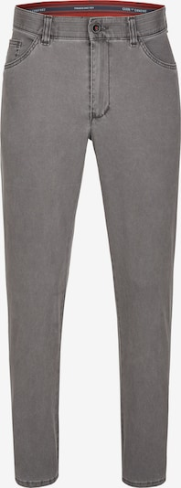 CLUB OF COMFORT Swing-Pocket-Hose Keno 6527 mit Pima-Stretch in grau, Produktansicht