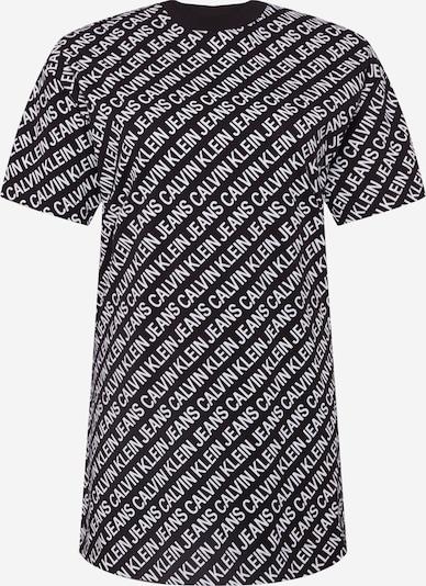 fekete / fehér Calvin Klein Jeans Curve Ruha, Termék nézet