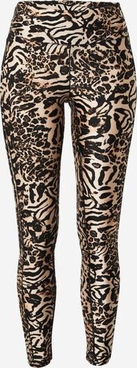Casall Sportske hlače 'Fusion' u bež / crna, Pregled proizvoda