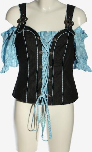 SHEEGO Corsage in XL in blau / schwarz / weiß, Produktansicht