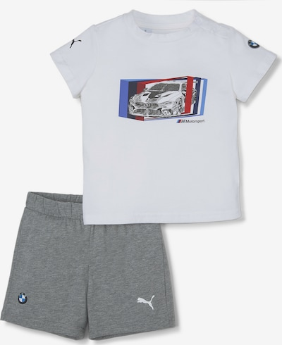 PUMA Set 'BMW M Motorsport' in blau / grau / rot / weiß, Produktansicht