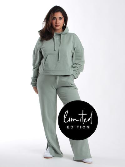 ABOUT YOU Limited Pantalon 'Ronja' en gris, Vue avec modèle