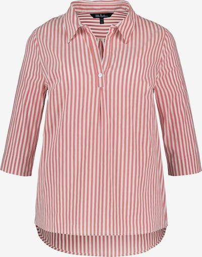Ulla Popken Bluse in rot / weiß, Produktansicht