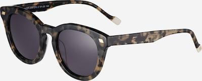 LE SPECS Sonnenbrille 'OVER & OVER' in beige / schwarz, Produktansicht