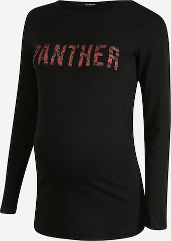Supermom Shirt 'Panther' in Black