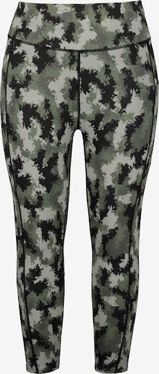 Studio Untold Leggings in khaki / pastellgrün / schwarz, Produktansicht
