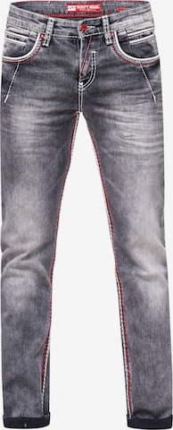Rusty Neal Jeans 'NEW YORK 45' in Grau