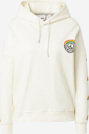 QUIKSILVER Sweatshirt in de kleur Gemengde kleuren / Wit, Productweergave
