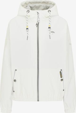 Schmuddelwedda Übergangsjacke in White