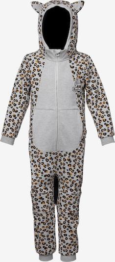 WeeDo Overall 'Cheetado Leopard' in de kleur Bruin / Grijs / Wit, Productweergave