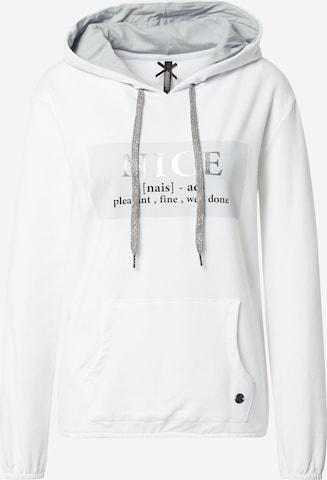 Key Largo Sweatshirt 'FRIENDLY' i hvit