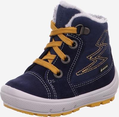 SUPERFIT Schuh 'GROOVY' in navy / gelb, Produktansicht