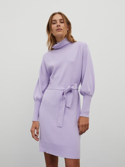 EDITED Pletené šaty 'Malene' - fialová, Model/-ka