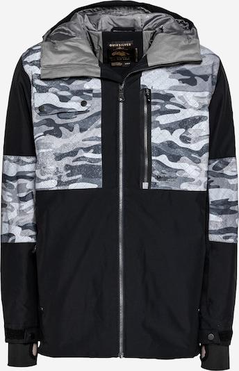 QUIKSILVER Outdoorová bunda 'TAMARACK' - opálová / svetlosivá / čierna / biela, Produkt