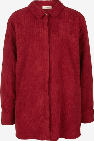 TRIANGLE Bluse in rot, Produktansicht