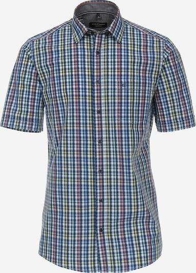 Venti Hemd in blau / gelb / anthrazit / altrosa, Produktansicht