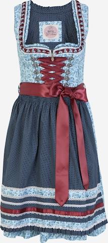 Rochițe tiroleze 'Natalia 55' de la MARJO pe albastru