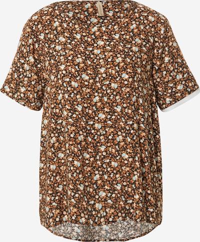 Soyaconcept Bluse 'RADA' in braun / schwarz / weiß, Produktansicht