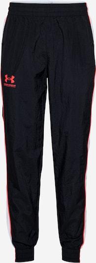 UNDER ARMOUR Sporta bikses gaiši pelēks / koraļļu / melns, Preces skats