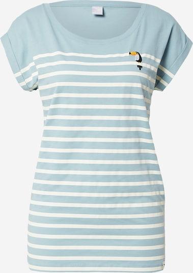Iriedaily T-Shirt in hellblau / weiß, Produktansicht