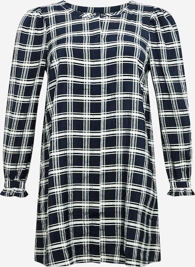 Zizzi Blusenkleid 'HARMONY' in navy / schwarz, Produktansicht