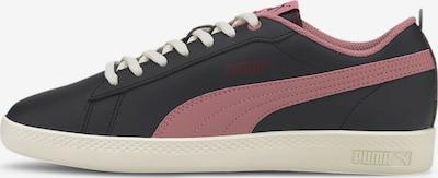 PUMA Baskets basses 'Smash v2 ' en rose / noir, Vue avec produit