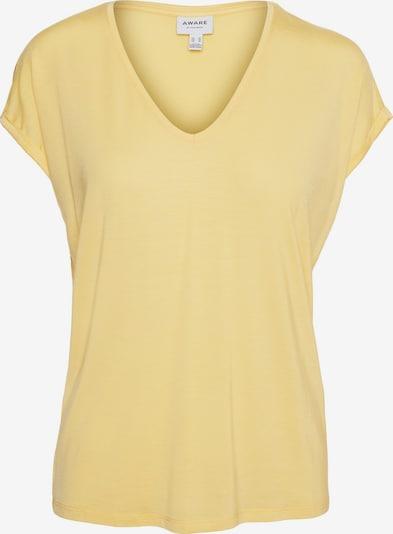 AWARE by Vero Moda T-Shirt 'Mava' in gelb, Produktansicht