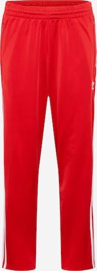 ADIDAS ORIGINALS Broek 'Firebird' in de kleur Rood / Wit, Productweergave