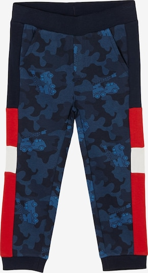 s.Oliver Jogpants in navy / rot / weiß, Produktansicht
