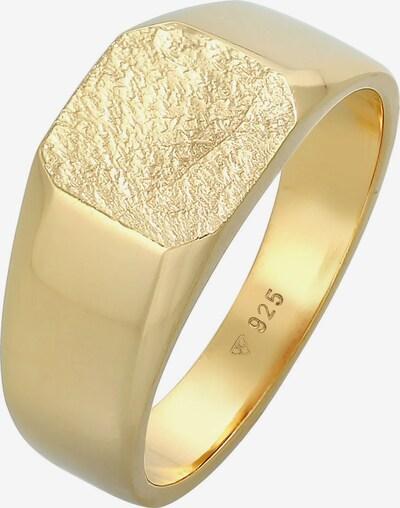 KUZZOI Ring Siegelring in gold, Produktansicht