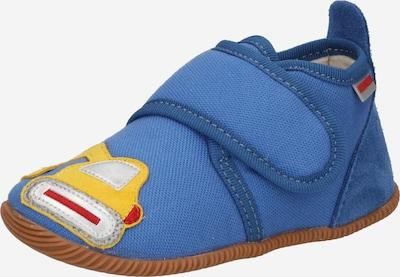 GIESSWEIN Pantofle 'Spalt' - modrá / žlutá / stříbrná, Produkt