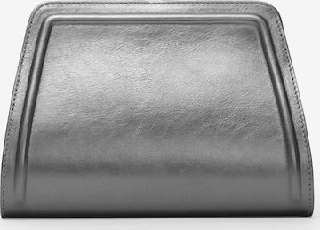 Gretchen Clutch 'Lyra Clutch Two' in Silver