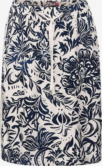 CECIL Φούστα σε σκούρο μπλε / λευκό, Άποψη προϊόντος