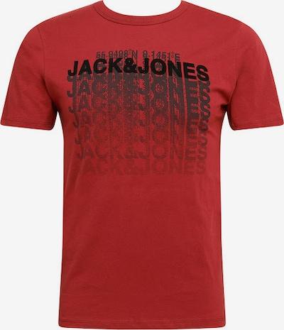 Marškinėliai 'Club' iš JACK & JONES , spalva - raudona / juoda: Vaizdas iš priekio