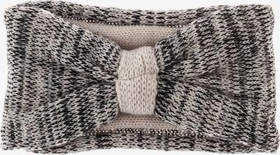 Ulla Popken Stirnband in beige / schwarz, Produktansicht