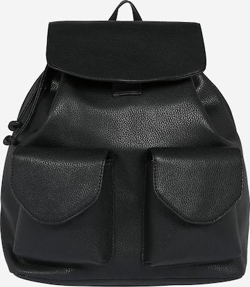 ABOUT YOU Seljakott 'Victoria Bag', värv must
