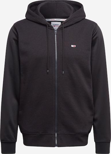 Giacca di felpa Tommy Jeans di colore lilla / sambuco / rosso chiaro / nero / bianco, Visualizzazione prodotti